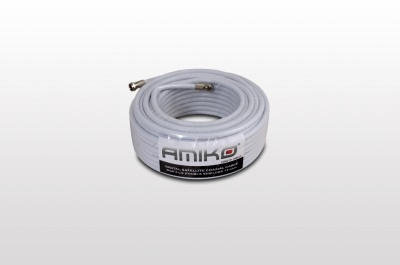 DUAL-SHIELDED COAXIAL CABLE 20mt